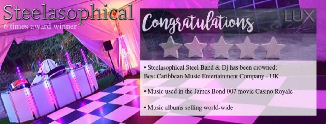 Steelasophical steel band hire uk best caribbean music company