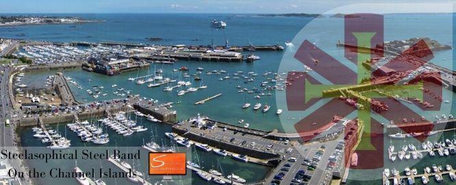 Channel Island Steelasophical Steel Band Jersey Guernsey Herm Bay