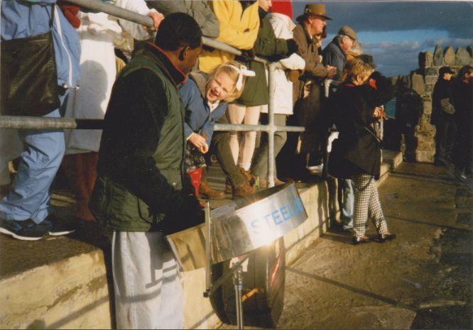 Guernsey Steelband christmas morning baths steelband br steelband br Polar Bears La Vallette Pools