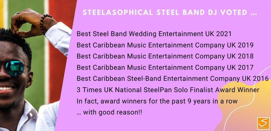 Steelpan Caribbean Music Band hire