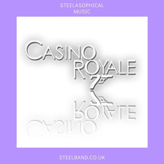 Steelasophical Steelpan band music James Bond Casino Royale