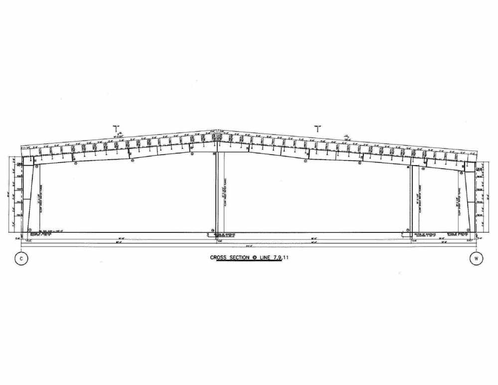 medium resolution of 180x400x35 new never used metal building for sale in utah