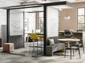 clear plastic desk chair stool suppliers modular office privacy walls & work pods | steelcase