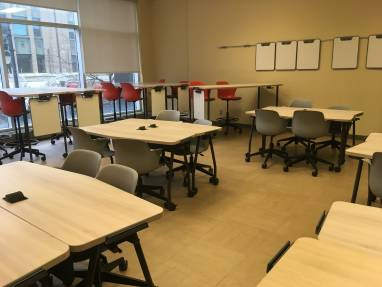 classroom organizer chair covers desk chairs for tall man furniture solutions education steelcase lasalle