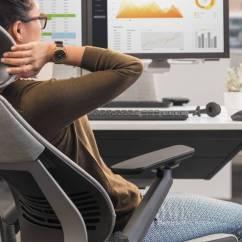 Posture Chair Benefits Amazon Uk Loose Covers Gesture: An Ergonomics Evaluation - Steelcase
