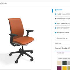 Ergonomic Chair Data Banquet Covers For Sale Think Adjustable Office Steelcase Visualizer