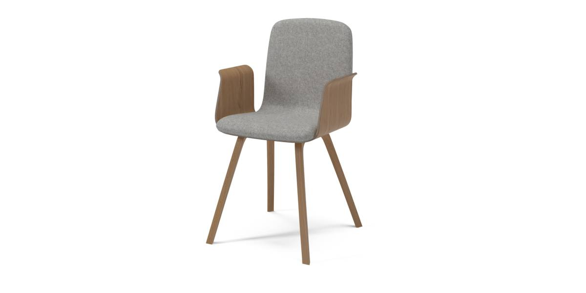 dining chair with armrest gray fabric chairs palm steelcase
