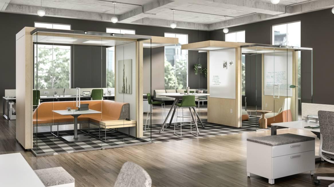 IRYS Office Privacy  Meeting Pod  Steelcase
