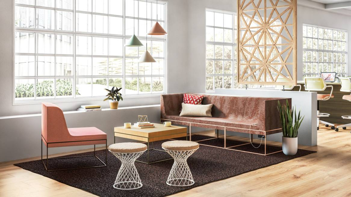 blu dot sofa elemental dark brown cover umami lounge system - steelcase