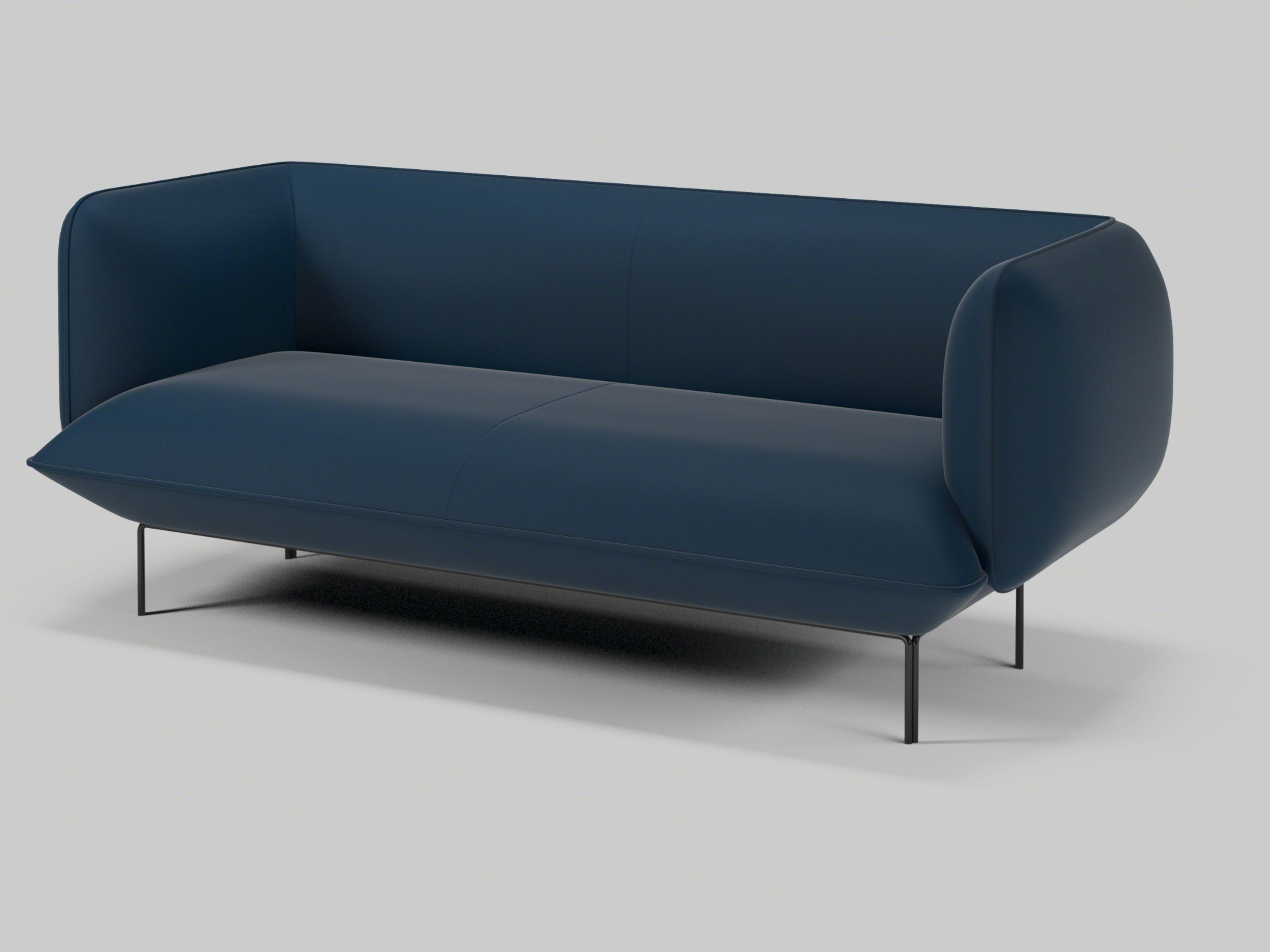 bolia outlet sofa stonewood bison leather cloud baci living room