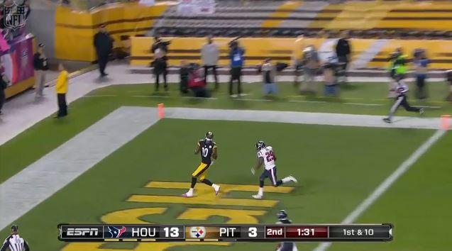 Pittsburgh Steelers Martavis Bryant Touchdown