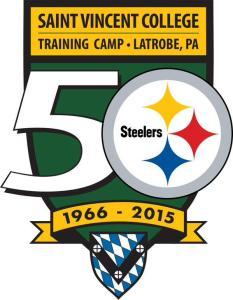 Steelers training camp logo