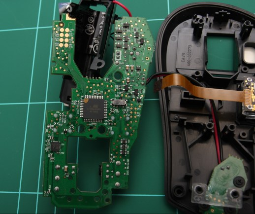 Performance MX circuit board removed