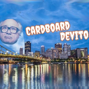 Cardboard DeVito is back for another season of DeVito-ing!