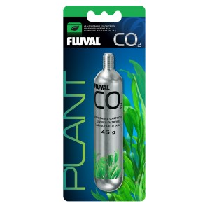 Fluval Pressurized CO2 Disposable Cartridge, 45 g
