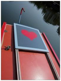 Narrow Boat Heart. Sheffield S2