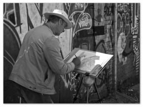 Street Artist. Sheffield S1