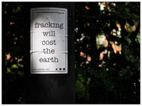 Fracking Will Cost The Earth. Sheffield S11