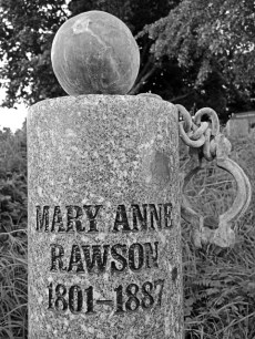 Mary Anne Rawson. Sheffield