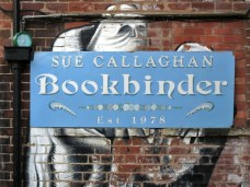 Sue Callaghan Sign and Phlegm Artwork