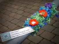 3. Yarn Bombing Porter Brook 13/05/2014