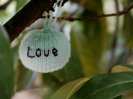 Love. Harvest Festival yarn bombing by Yarn Forward - Sheffield October 2014