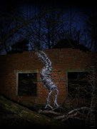 3. After Dark - Green Man by Phlegm - Sheffield - November 2014