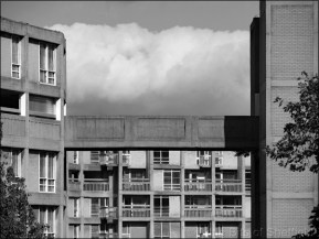 Cumulus Cloud over Park Hill Flats | 21 September 2016 | © Little Bits of Sheffield (sp1000168e)