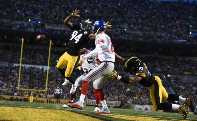 Offensive Line Defense Deliver As Steelers Beat Giants 24 14