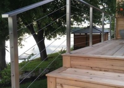 Horizontal Railing Or Stainless Steel Railings In Ny C F Steel | Exterior Stainless Steel Handrail | Flat Bar | Balustrade | Steel Railing | Mild Steel | Staircase
