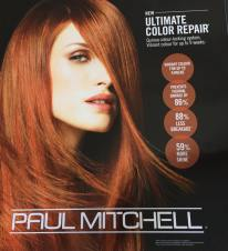 Ultimate colour repair available at Steele Hairdressing