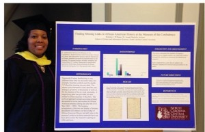 Grad School Graduation with Award Winning Research Poster