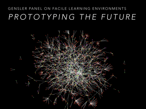 I was fortunate to sit on the 2014 Gensler Panel on Future Proofing Facile Learning Environments of Tomorrow. These are the six slides I delivered.