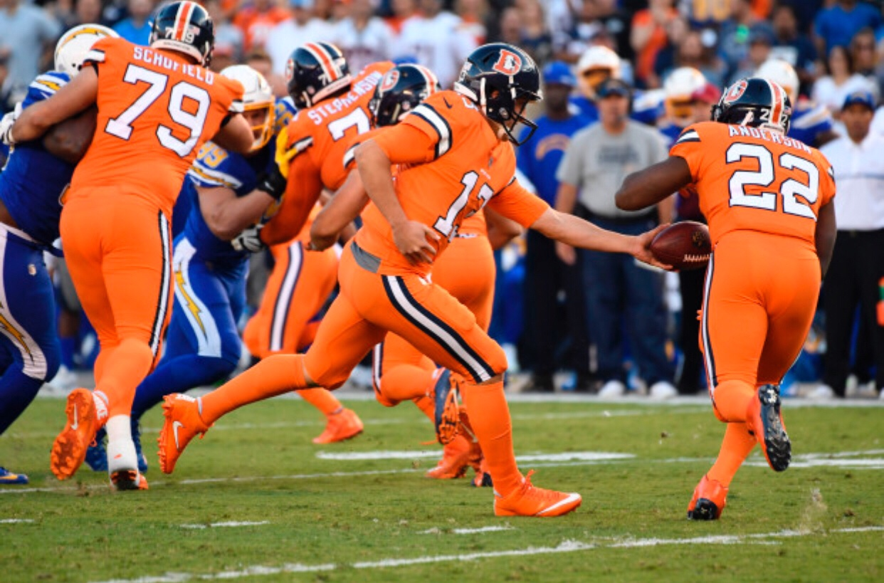 6. Denver Broncos – This color rush version really caught my eye. I d be  all for the Broncos adopting this as the full time jersey. aa4b397dd