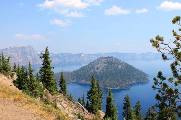Crater Lake broad view