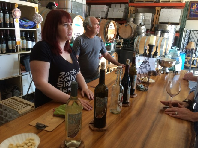 Sones Cellars Wine Tasting