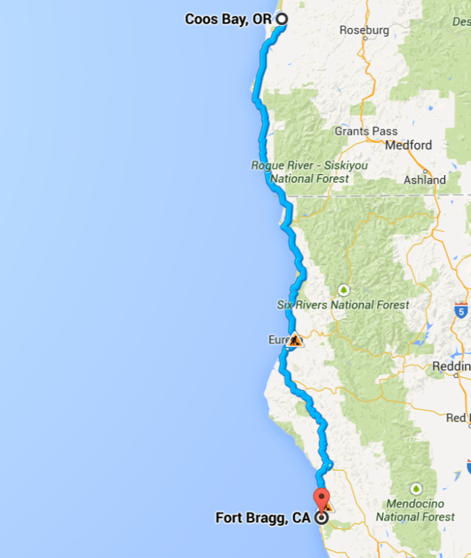 Day 3 route