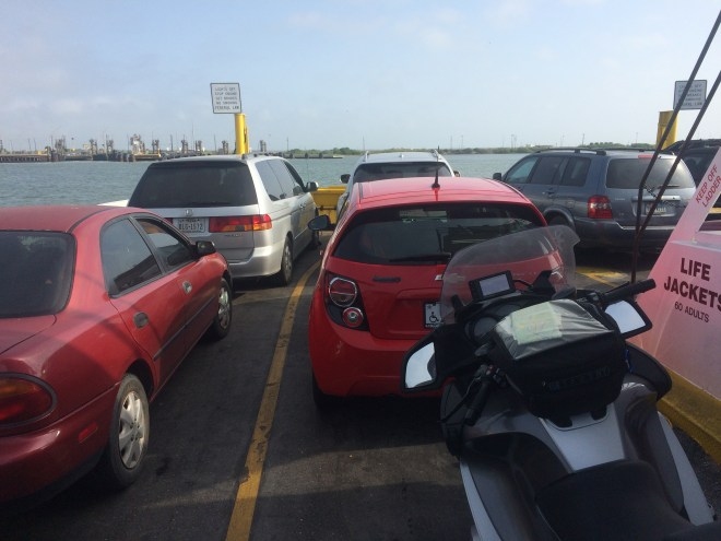 Port Aransas Ferry Crossing