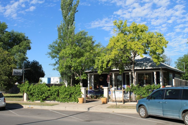 The Blue House Bakery & Cafe in Carlsbad, NM