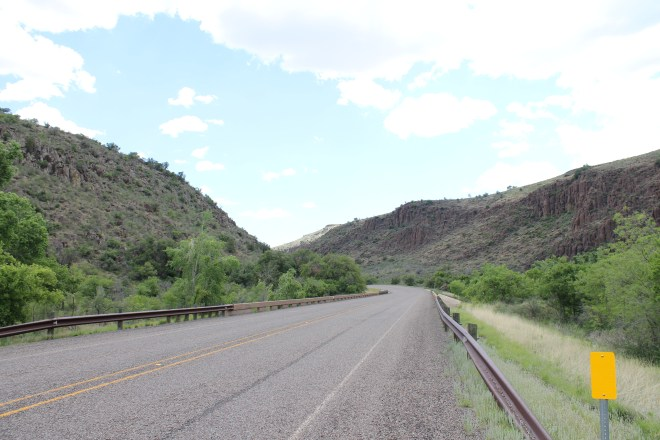 Hwy 17 just north of Fort Davis, TX