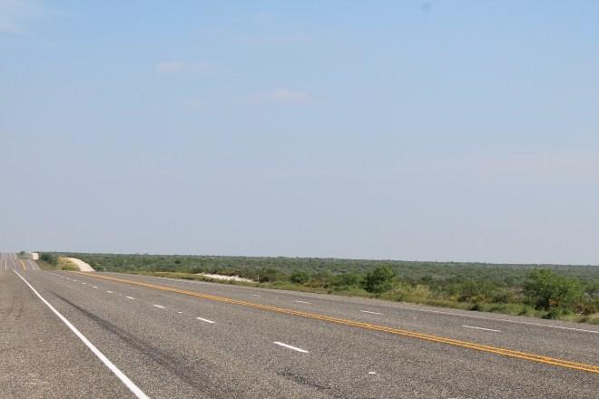 Hwy 90 east of Marathon, TX