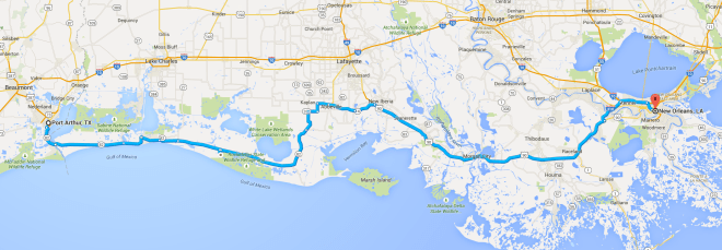 Day 25 Route
