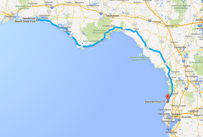 Day 27 Route