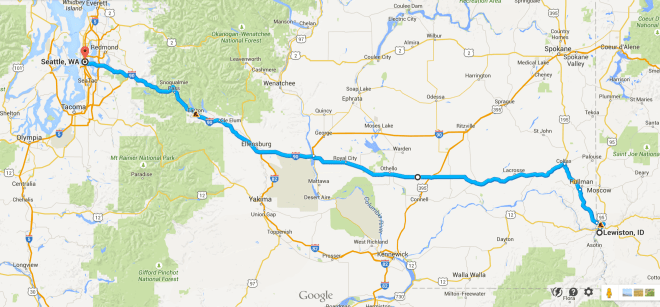 Day 65 Route
