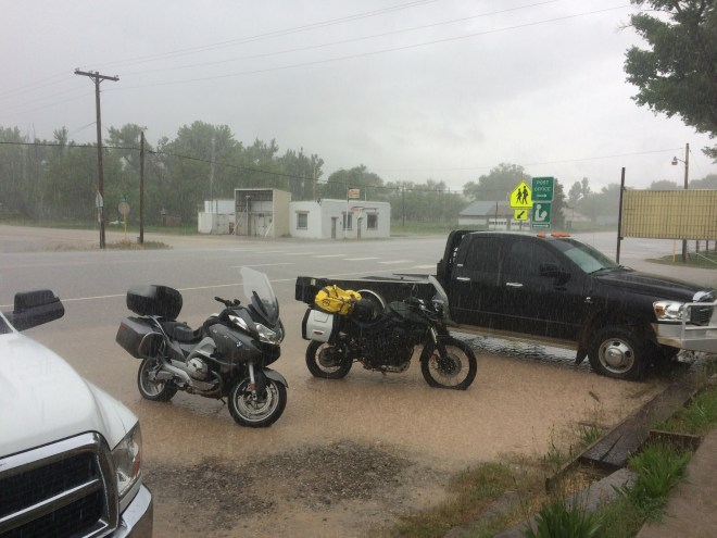 Rain in Maybell, CO