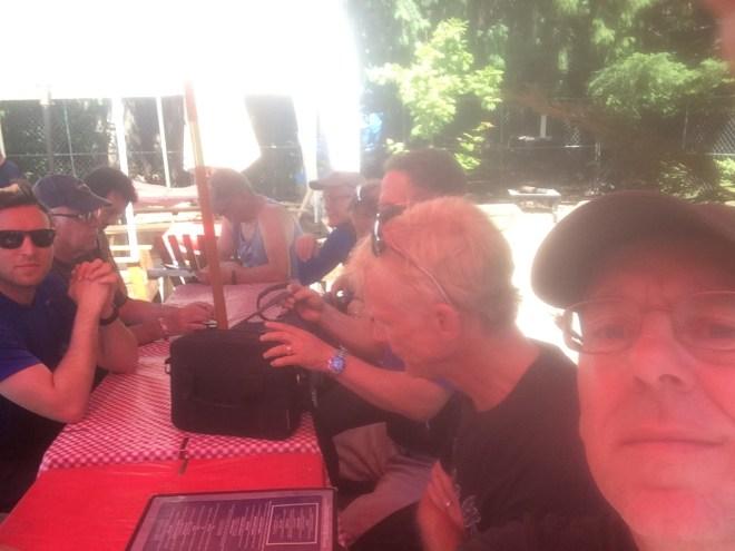 Lunch at Naches Tavern, Greenwater, WA