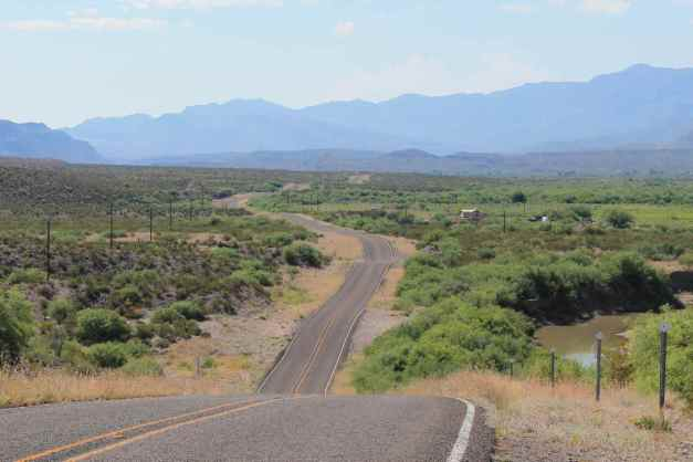 Big Bend Ranch State Park Hwy 170 adjacent to the Rio Grande