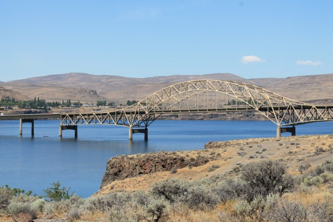 Vantage Bridge over Columbia River