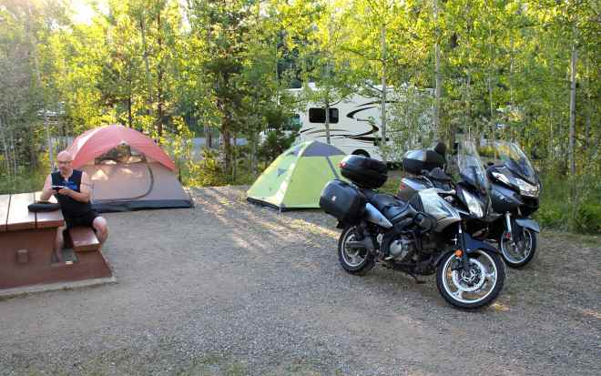 Emerald Bay Campground, Green Lake Provincial Park, BC