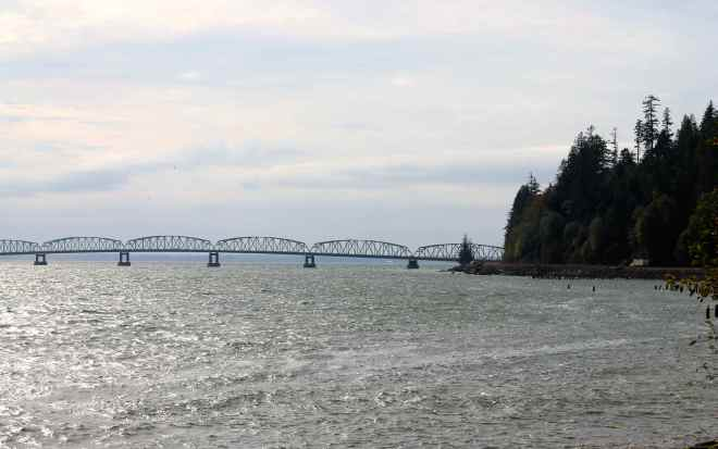 Astoria-Megler Bridge over the Columbia River